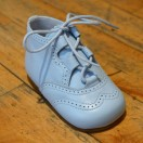 Baby Blue Napa Leather Boot