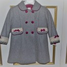 Lilac – Grey Coat ( Pure Wool)