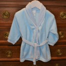 Dressing Gown In Blue And Also In Pink