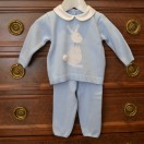 Blue rabbit outfit model 640