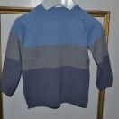 Jumper In Blue And Grey